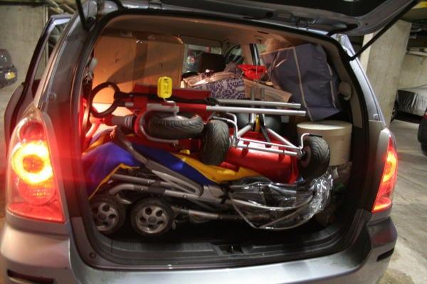 chargement de la voiture entretien auto conseils optimisation rangement objets transport s. Black Bedroom Furniture Sets. Home Design Ideas